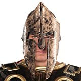 Amscan Gracious God & Goddess Spartan Helmet (1 Piece), One Size, Bronze