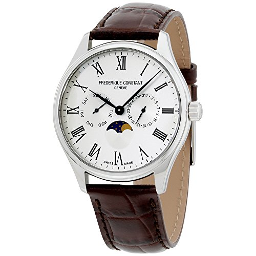 Frederique Constant Classics Quartz Movement Silver Dial Men's Watch FC-260WR5B6-DBR