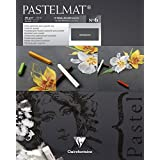 Clairefontaine Pastelmat Pad Anthracite 360g 24x30cm, 12 Sheets