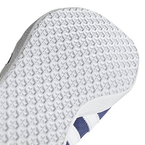 Adidas Women's Gazelle W, Noble Indigo/White/Linen, 9.5 M US