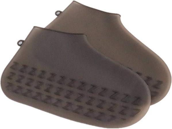 Shoe Cover Men Waterproof Rainproof Non Slip Outdoor Walking Zipper for Halloween