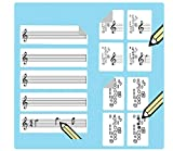 Saxophone Fingering Stickers Multipack (420 handy stickers) Great for beginners and teachers!