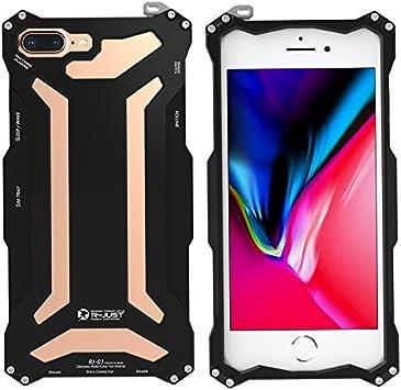 Carcasa de metal Eastcoo para iPhone 10, parachoques de aluminio ...
