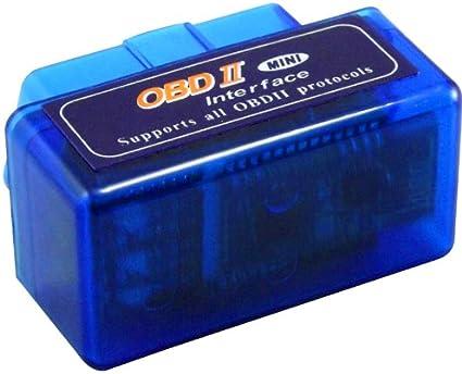 Wimaha Esc/áner Bluetooth OBD2 Lector OBDII Esc/áner de diagn/óstico del Coche Autoverificaci/ón Falla del Motor del Coche Herramienta del esc/áner Bluetooth con Reproductor de MP3 Tarjeta TF