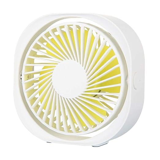 Mesa de sobremesa Creativa portátil Ventilador eléctrico Carga por ...
