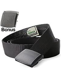Nylon Canvas Breathable Military Tactical Men Waist Belt...