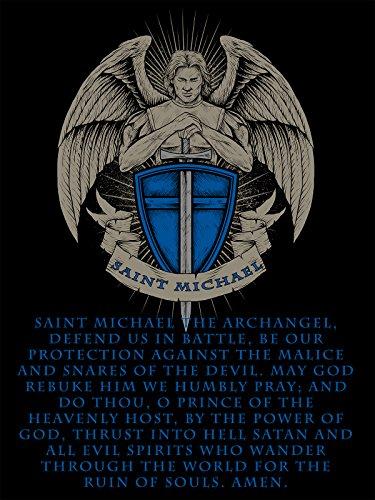 Saint Michael Poster Saint Michael Prayer The Thin Blue Line