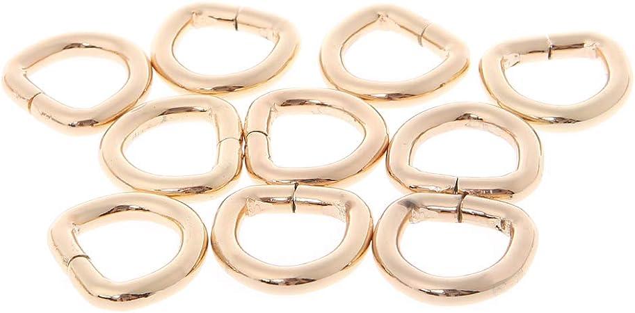 Sac à Main Épaule Bandoulière Chaîne Bracelet De Métal De Remplacement Or//Argent Logo 12 mm