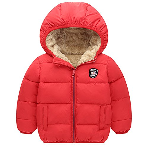 (Baywell Winter Warm Coat, Little Girls Boys Outwear Hoodie Jacket)