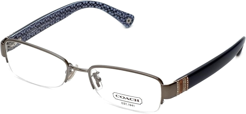COACH Women's 0HC5027B Dark Silver/Blue One Size