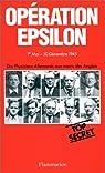 Opération Epsilon : Les transcriptions de Farm Hall par Franck