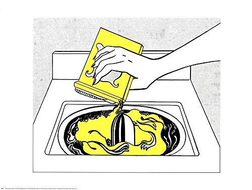 Washing Machine Roy Lichtenstein Art Print, 32 x 24 inches