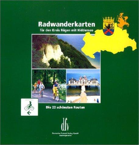 Radwanderkarten für den Kreis Rügen mit Hiddensee