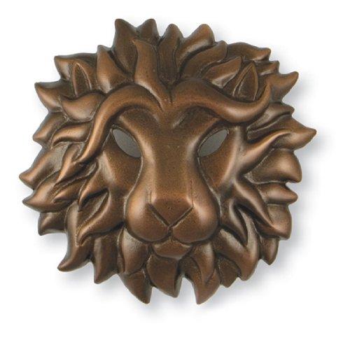 Regal Lion Door Knocker - Oiled Bronze (Premium Size) by Michael Healy Designs