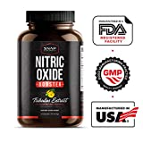 Snap Supplements Nitric Oxide Capsules - L Arginine, L Citrulline 1500mg Formula - Tribulus Extract & Panax Ginseng - Muscle Builder for Strength, Blood Flow and Endurance, Pre-Workout Supplement