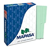 Mapasa PV0001 Paquete con 100 Sobres, Tamaño Carta, color Verde