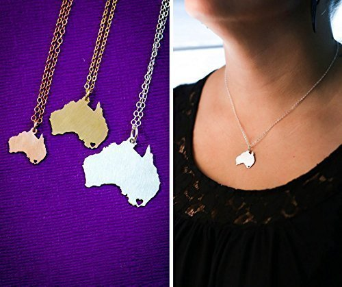 australia-necklace-ibd-personalize-with-name-or-coordinates-choose-chain-length-pendant-size-options