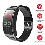 Smart Band Blood Pressure Heart Rate SPO2 Monitor Wrist Watch Intelligent Bracelet Fitness Bracelet Tracker Pedometer Wristband for Android and iOS