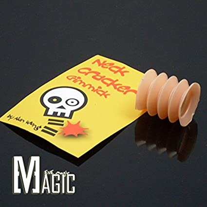 Close Up Magic Neck Bone Cracker Sound Effect Street Comedy Crack Crushing  Trick