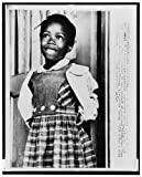 Photo: Ruby Nell Bridges Hall-Integration-1960 Desegregation