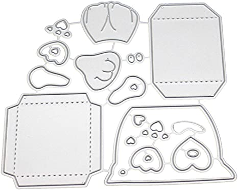 Bow Metal cutting dies mold Scrapbook stencils mould Crafts Embossing DIY