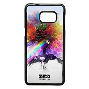 Zedd funda Samsung Galaxy S6 Edge Plus funda del teléfono celular de cubierta, funda del teléfono celular de plástico negro