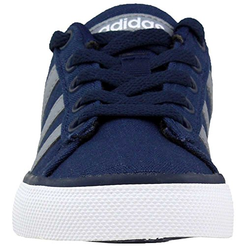 Pictures of adidas NEO SE Daily Vulc K Kids AQ1283 Collegiate Navy/Grey/White 4