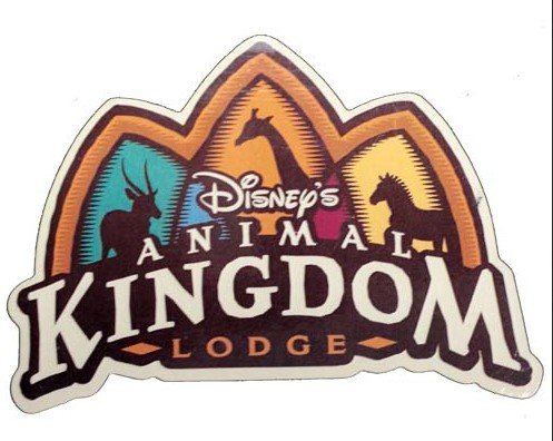 WDW Parks Magnet - Animal Kingdom Lodge Logo