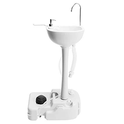 Amazoncom Aosgya Rv Portable Camping Sink Detachable Outdoor