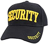 First Class Security Cap with ID On Front, Peak and