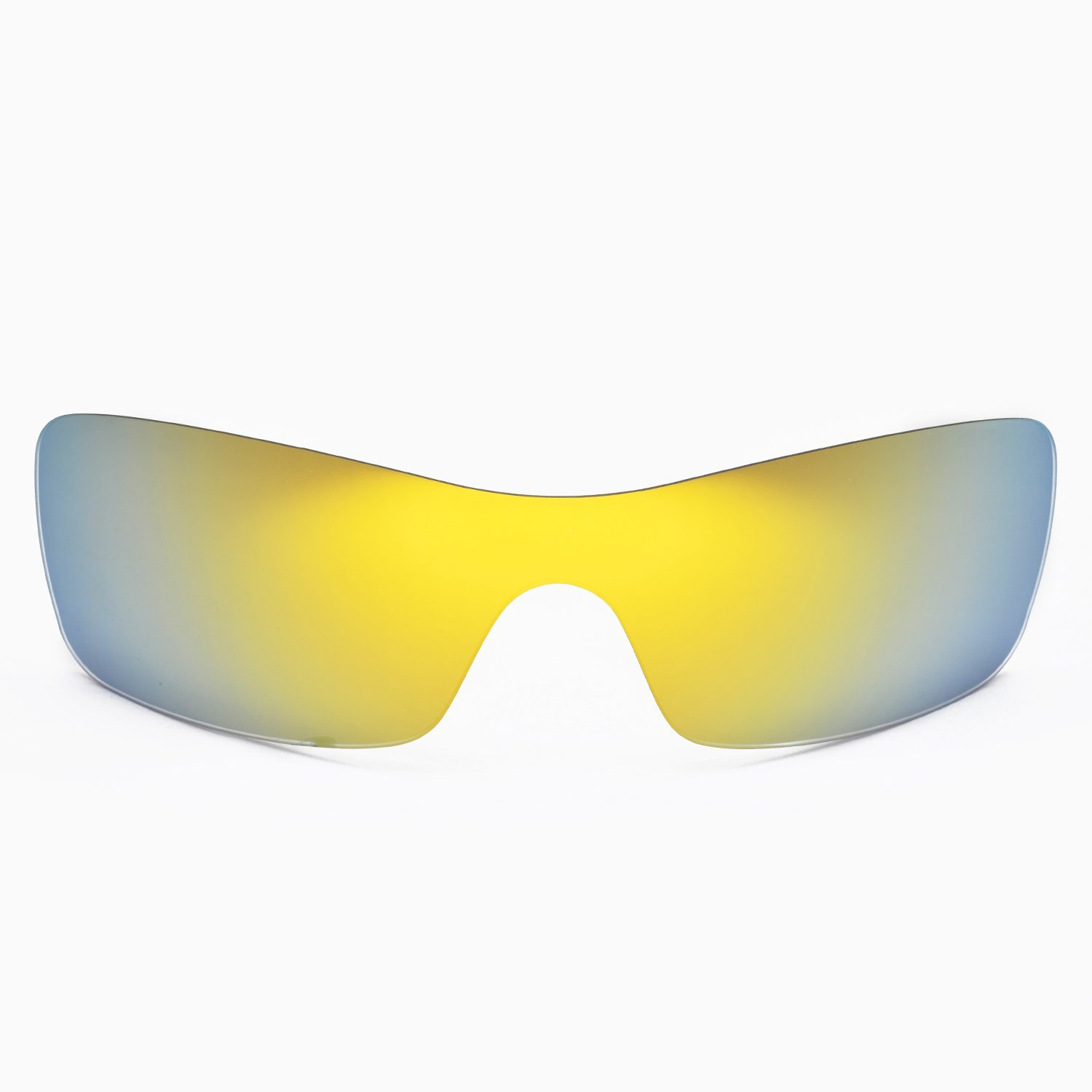 74d34b6e23c Walleva Replacement Lenses for Oakley Batwolf Sunglasses - Multiple Options  (24K Gold Mirror Coated - Polarized)  Amazon.co.uk  Clothing