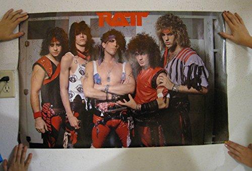 Ratt Poster Band Shot Vintage