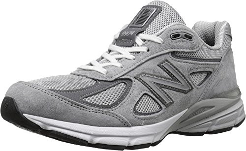 New Balance Men's M990GL4 Running Shoe, Grey/Castle Rock, 12 D ()