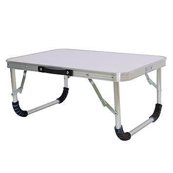 Mesa de escritorio plegable para ordenador portátil, sofá, cama, portátil, pequeña, para camping, picnic, barbacoa, fiesta, mesa de escritorio.