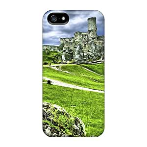 New The Ruins Of Ogrodzieniec Castle Tpu Case Cover, Anti-scratch LauraGroff-Y Phone Case For Iphone 5/5s