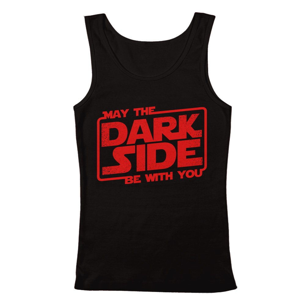 GEEK TEEZ Star Wars Inspired May The Dark Side Be with You Mens Tank Top