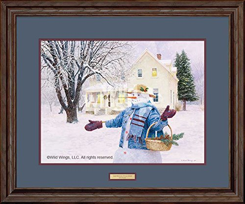 Gathering Pinecones Framed Limited Edition Print by Ned Young