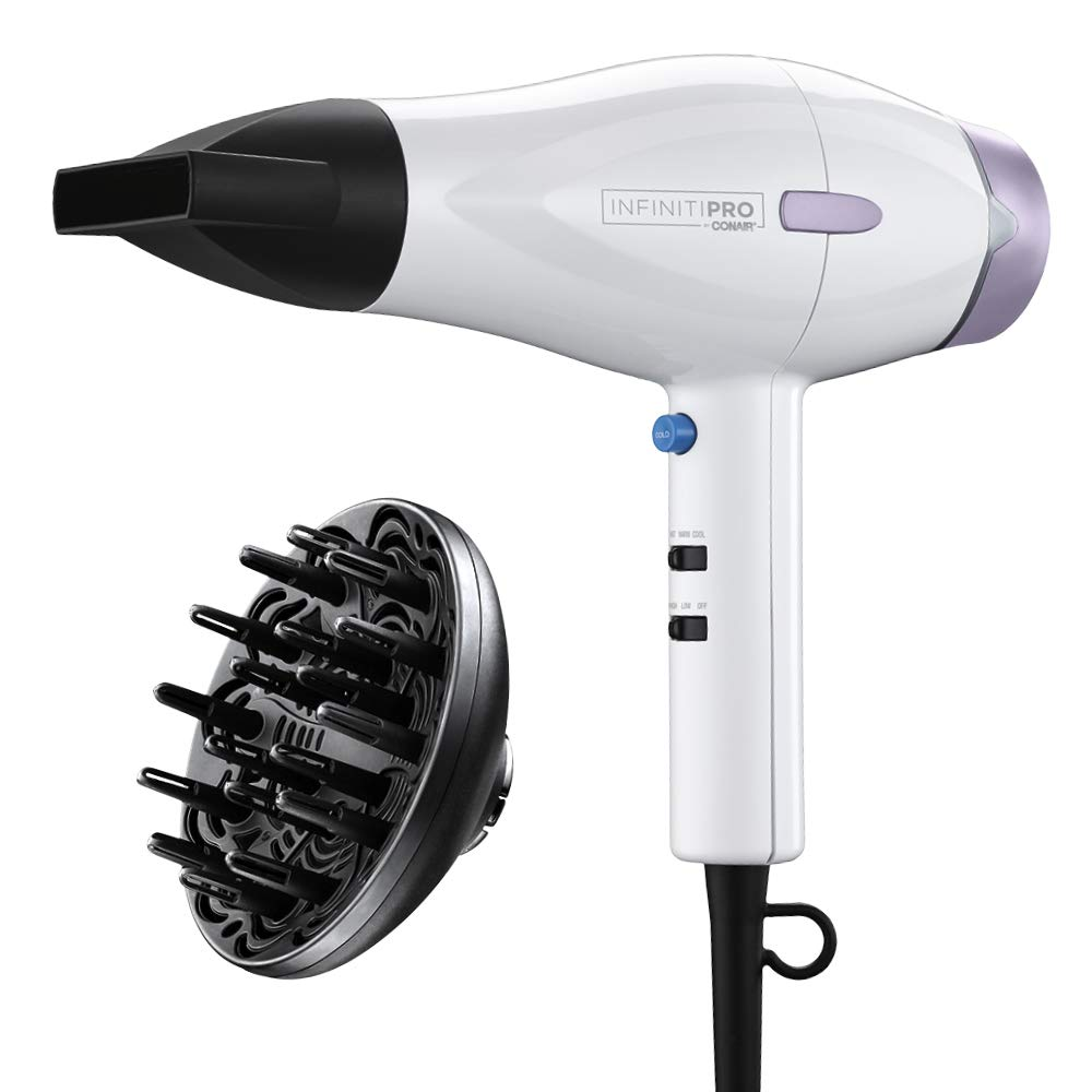 Infiniti Pro by Conair INFINITIPRO BY CONAIR 1875 Watt Advanced Ceramic Hair Dryer ~ featuring Heat-Sense Technology