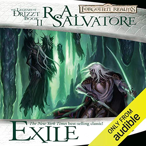 Exile: Legend of Drizzt: Dark Elf Trilogy, Book 2