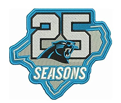 Carolina Panthers Schedule 2020.Amazon Com Football Panthers 25th Anniversary Patch 2019