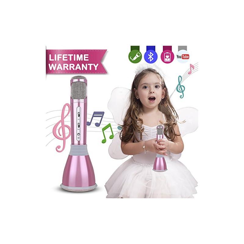 Microphone Kids,Upgraded Karaoke Microph