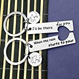 Couple Keychain I'll Be There for You Keychain