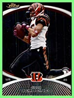 2010 Finest #80 Chad Ochocinco Johnson CINCINNATI BENGALS OREGON STATE