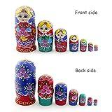 Starxing Russian Nesting Dolls Matryoshka Wood