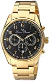Lucien Piccard Men's LP-10588-YG-11 Moderna Analog Display Japanese Quartz Gold Watch