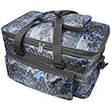 Professional Art Supplies Storage Bag with Shoulder Padded Strap, Large Multifunction Painting Travel Tote Bag for Paints, Paint Brushes &Pen &Pencil, Pallet, Sketchbook,Paint Bucket,8K Sketch Paper