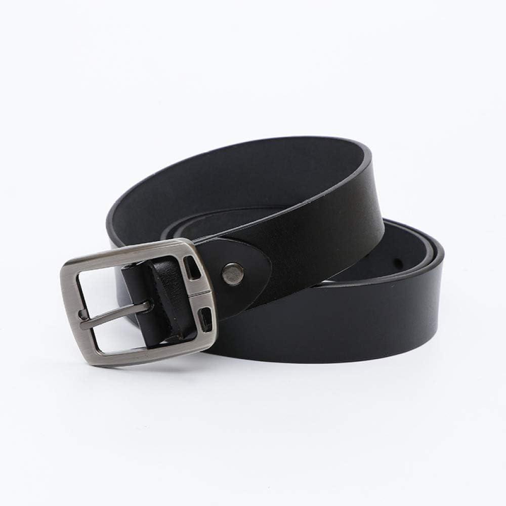 longhua Cinturón San Valentín Regalo para Hombres Moda Retro Cuero Vacuno Cinturón Holid