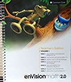 img - for enVisionmath2.0 - 2016 Common Core Teacher Edition Volume 1 Grade 1 book / textbook / text book