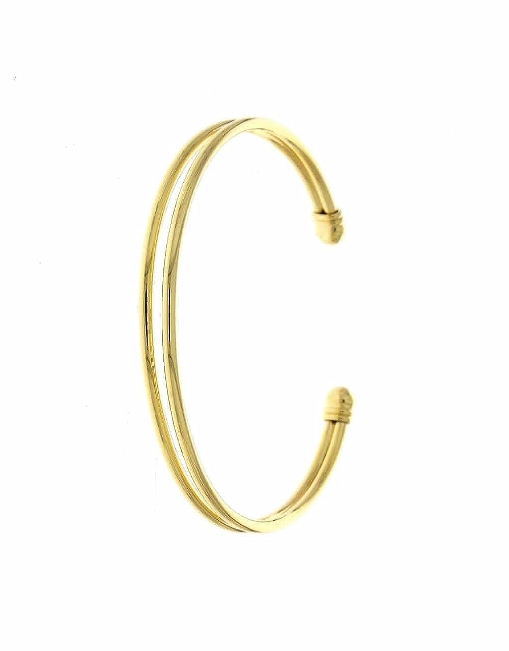 Anuradha Art Golden Finish Simple Designer Classy Stylish Kada//Hand Bracelet for Women//Girls