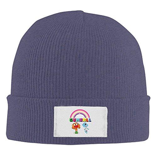 Creamfly Adult The Amazing World Of Gumball Rainbow Wool Watch Cap ()
